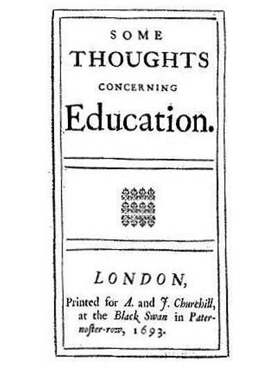 bulletin john lock some thoughts concerning education